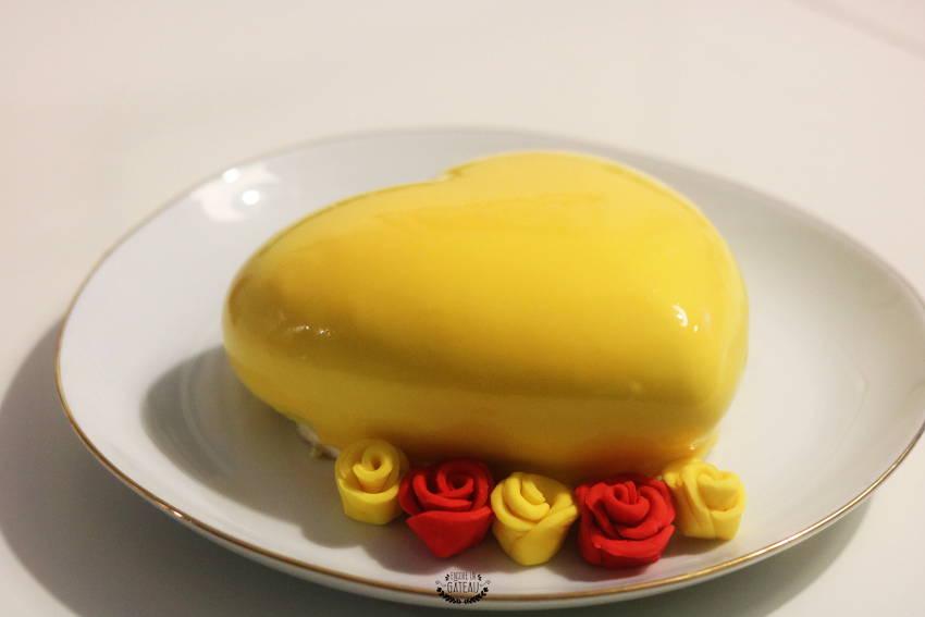 recette de l'entremets yellow de christophe felder