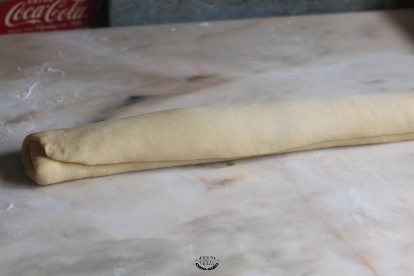boudin de pâte brioche russe