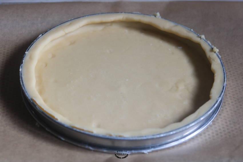 foncer un cercle à tarte correctement