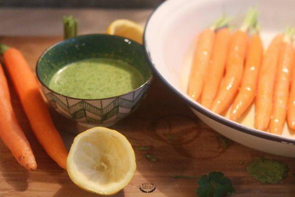 sauce pour carottes rôties à la chermoula