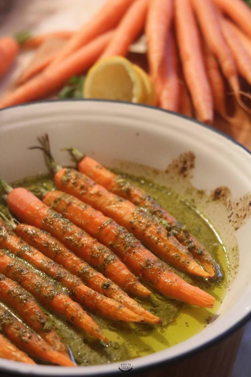 savoir faire les carotte rôties à la chermoula