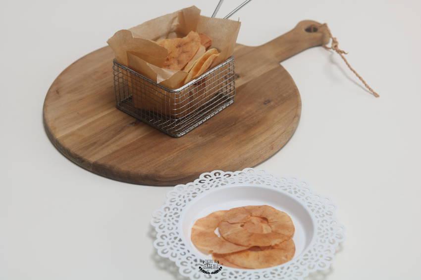 recette facile de chips de pommes