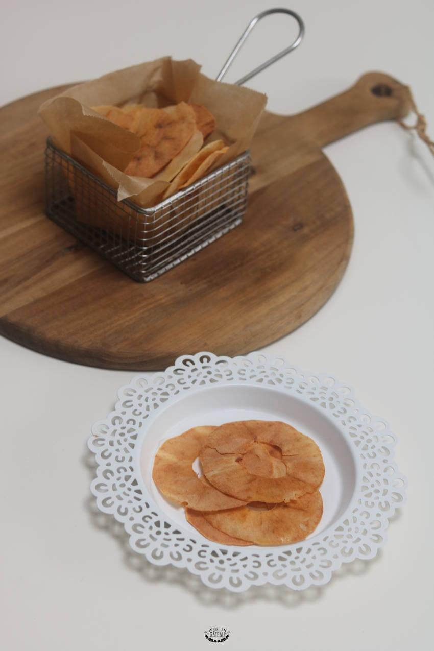 comment faire des chips de pommes