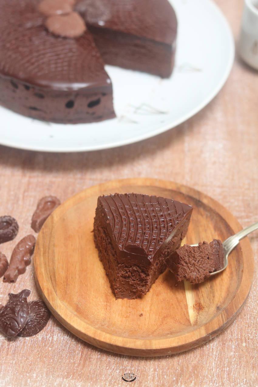 le fondant chocolat mascarpone de lignac