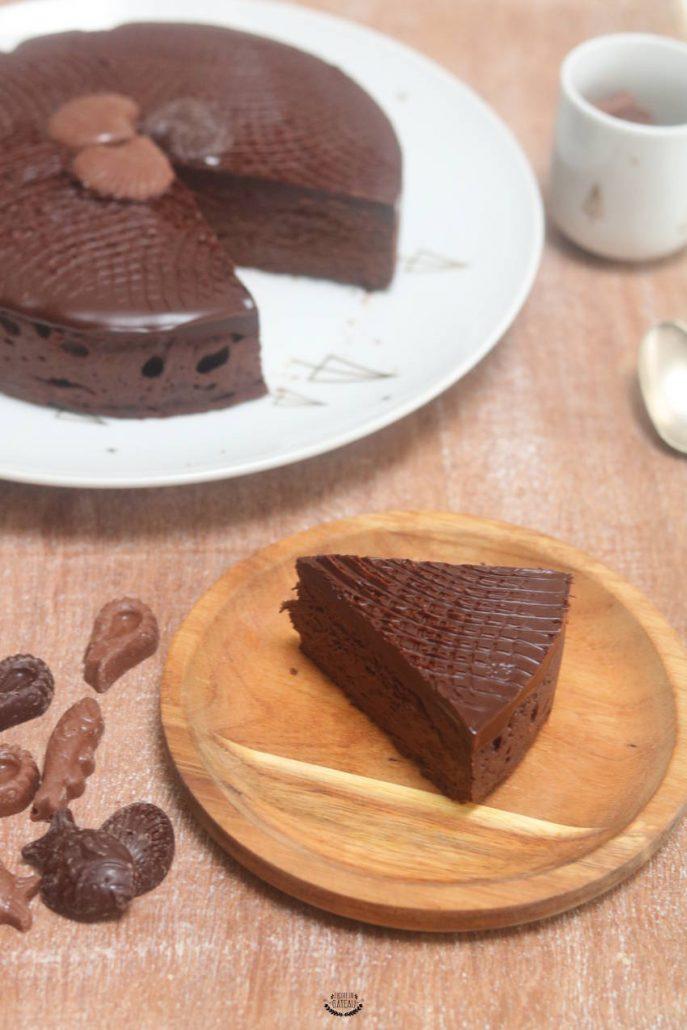 fondant au chocolat et mascarpone