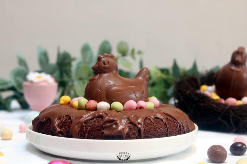 recette facile de gâteau aux chocolats de pâques