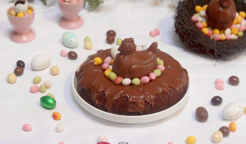 comment faire un gâteau aux chocolats de pâques ?