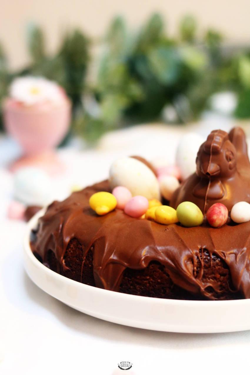 recette sans gluten de gâteau aux chocolats de pâques