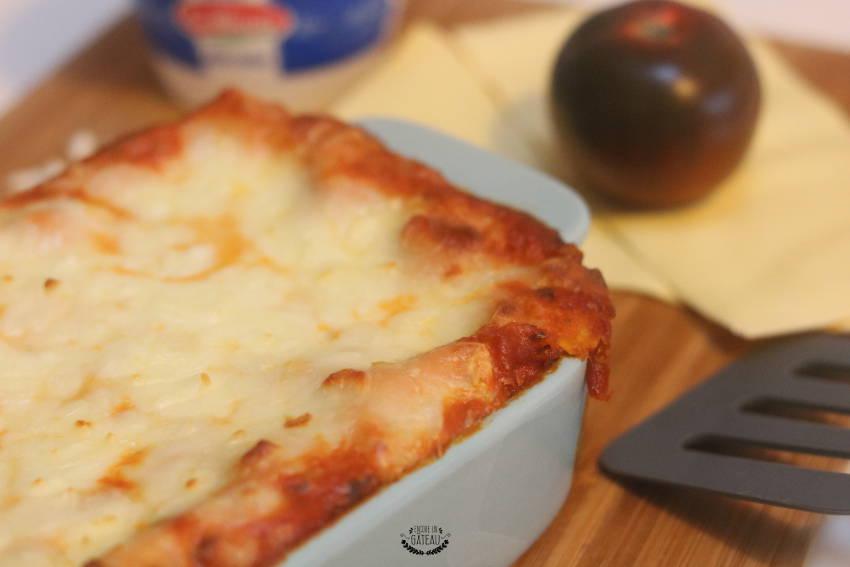 faire des lasagnes boeuf ricotta