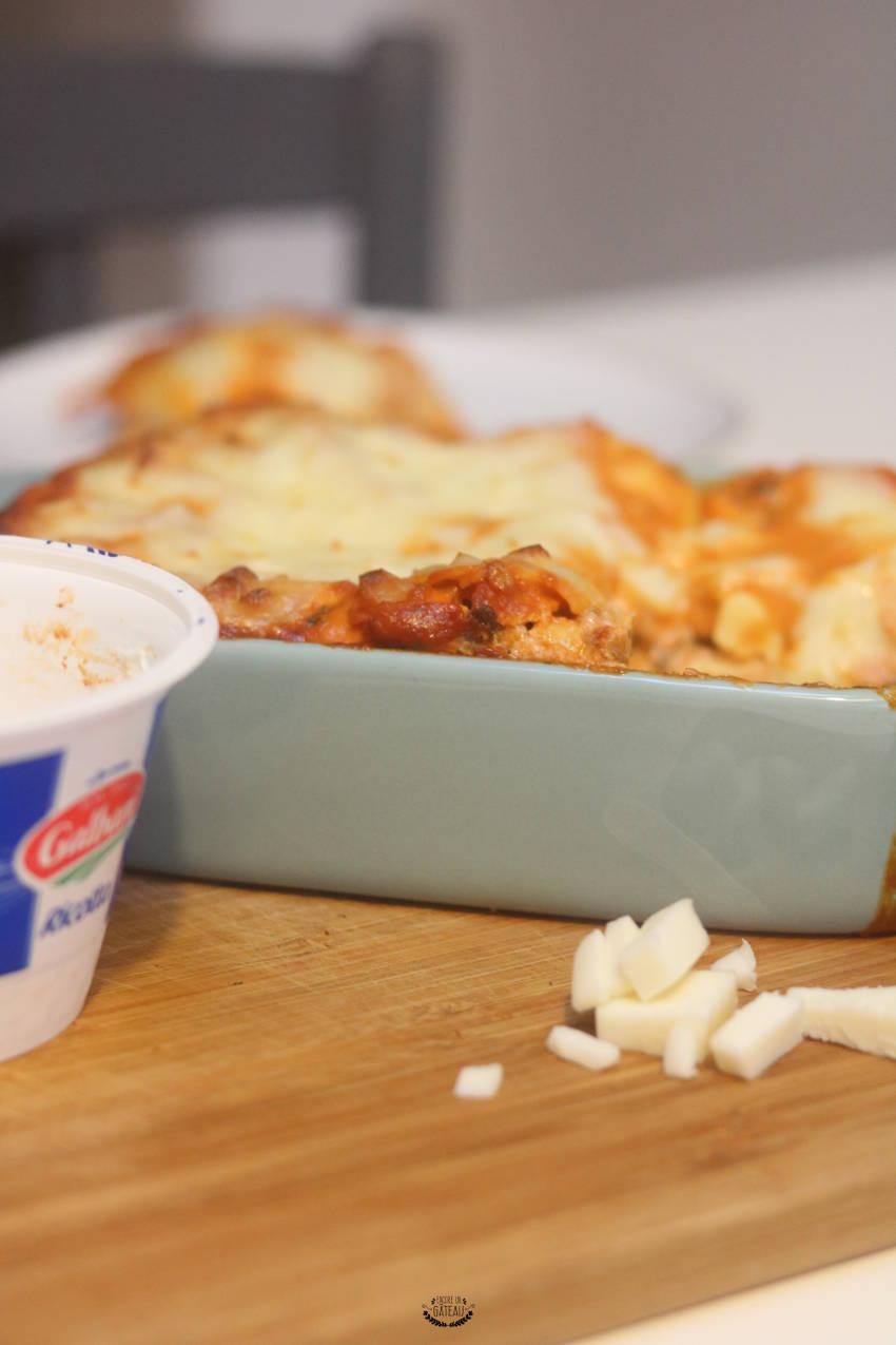 recette italienne de lasagnes boeuf ricotta