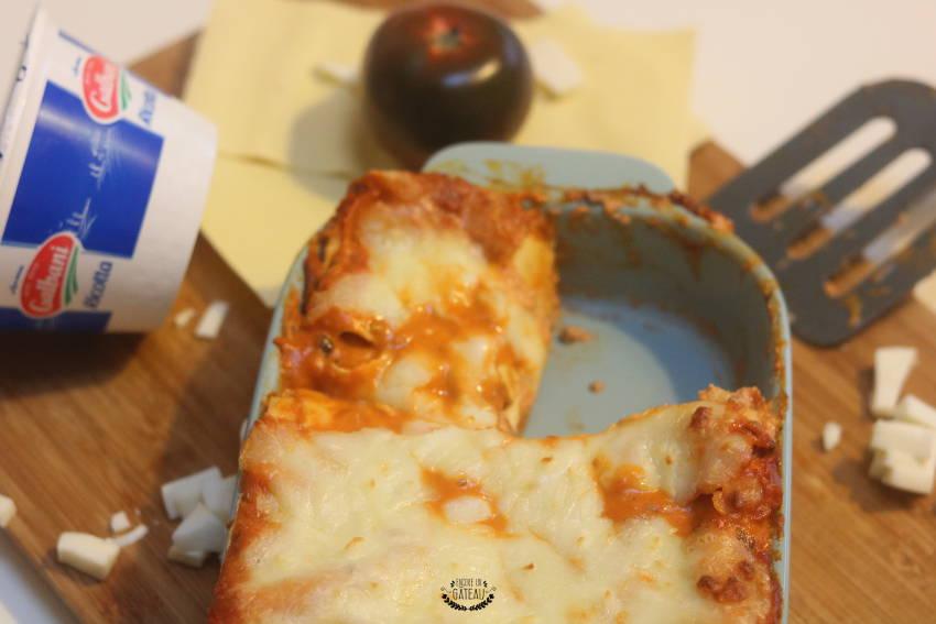 cuisiner des lasagnes boeuf ricotta