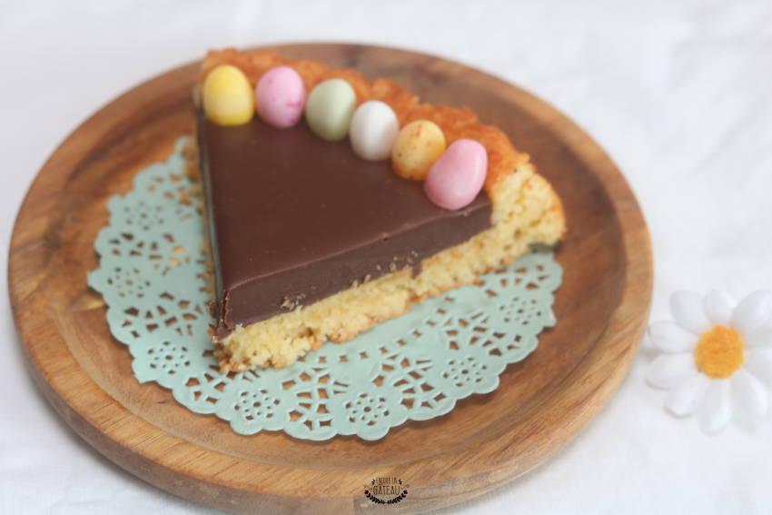 recette rapide de tarte au chocolat de paques