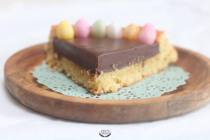 comment faire une tarte au chocolat de paques ?