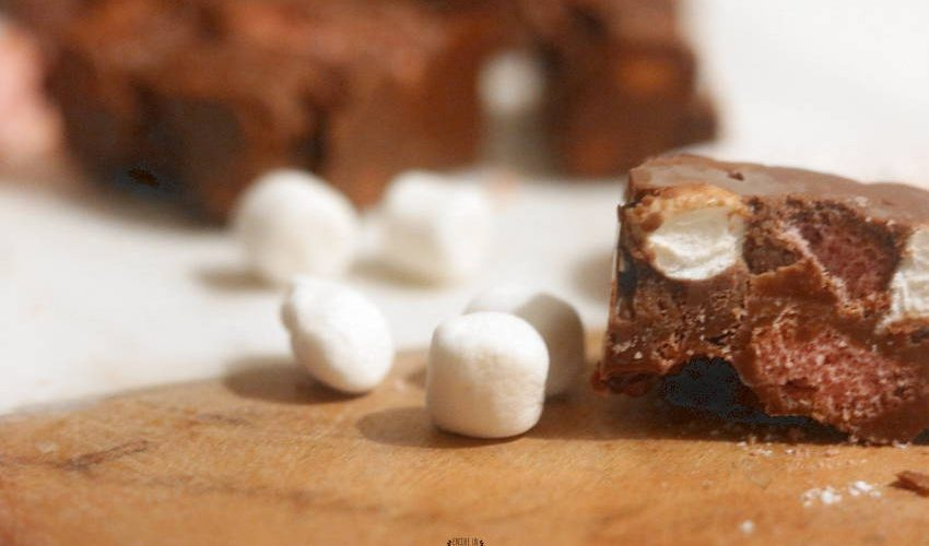 rocky road chocolat sans cuisson