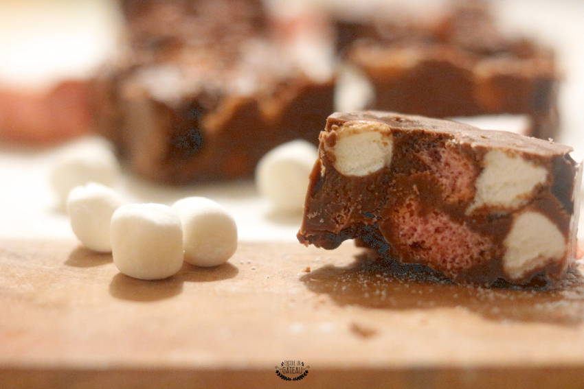 rocky road biscuits rose