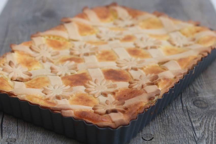 la tarte à la semoule spécialité bourguignonne