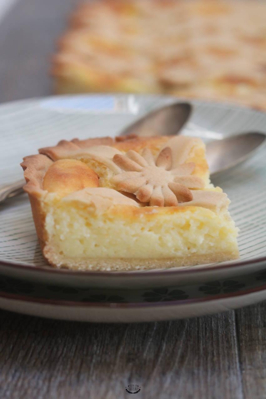 recette traditionnelle de la tarte à la semoule