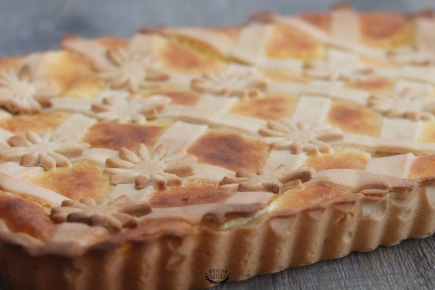 recette facile de tarte à la semoule