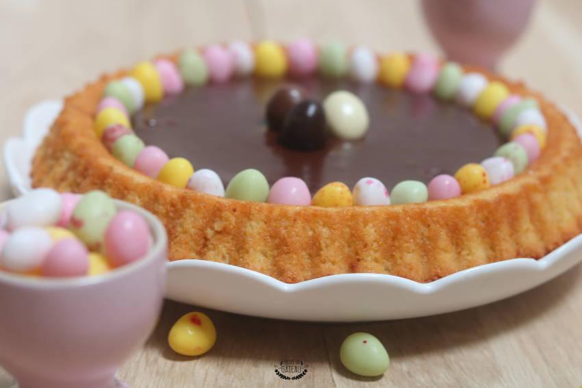 recette de tarte au chocolat de pâques