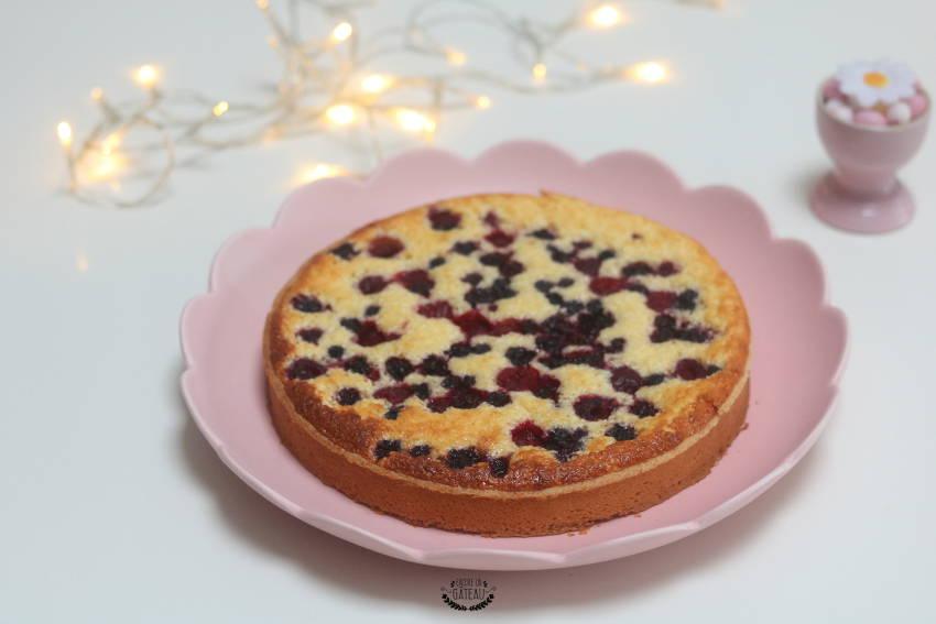 recette facile de tarte légère aux fruits rouges
