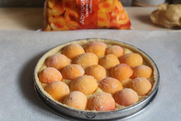comment faire une tarte amandine abricots ?