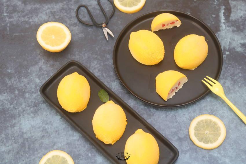 dessert sans gluten citrons fruits rouges