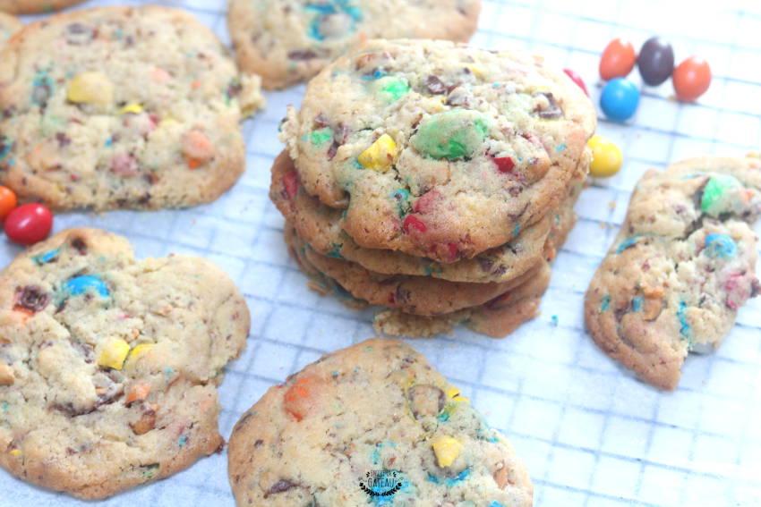 cookies aux m&ms comme aux usa