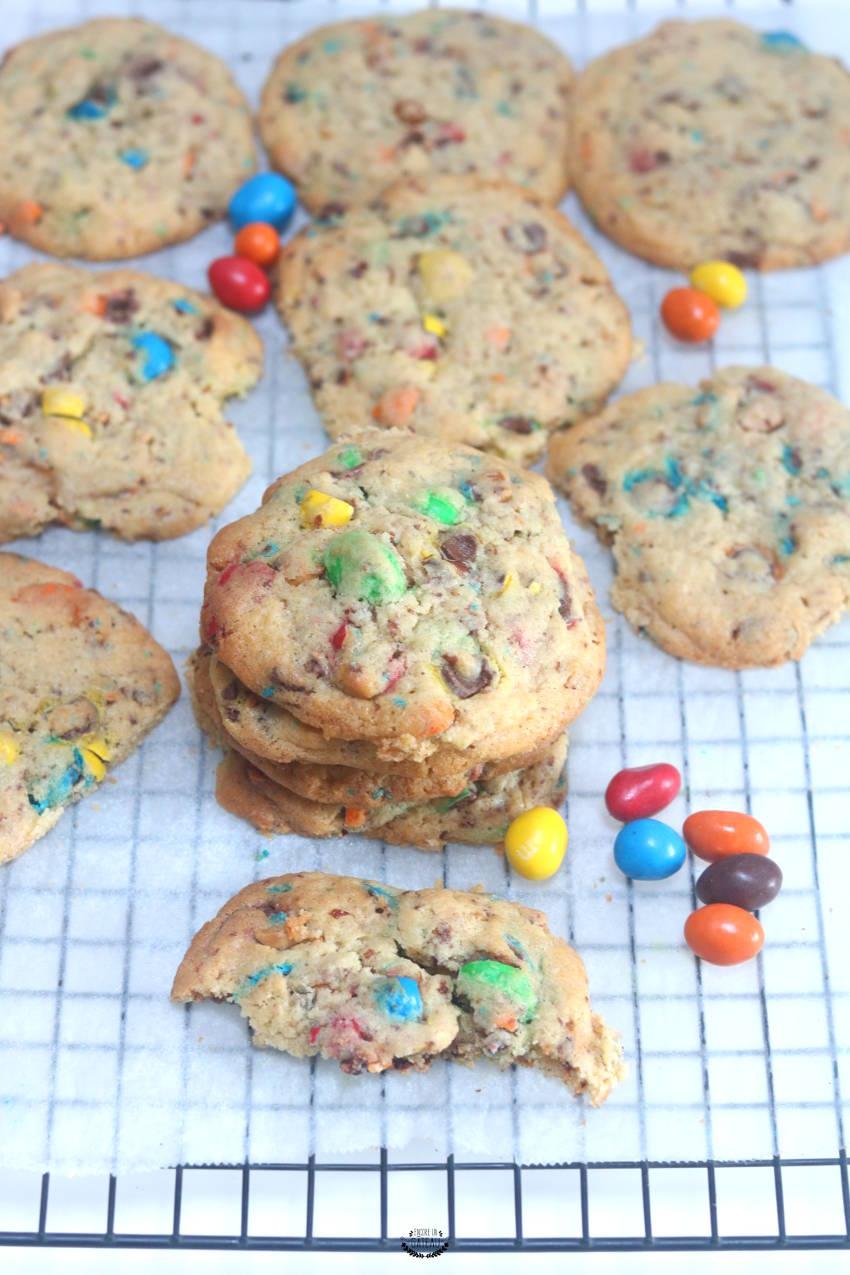 comment faire des cookies aux m&ms ?