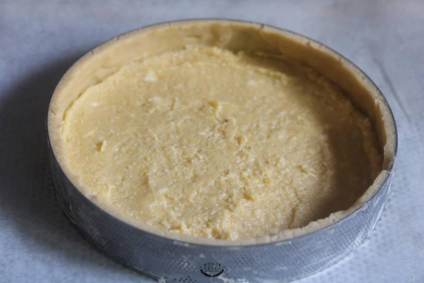 crème d'amande tarte aux fraises crème diplomate