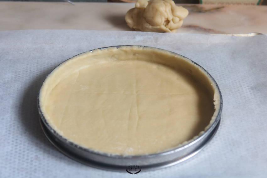 fond de tarte au citron