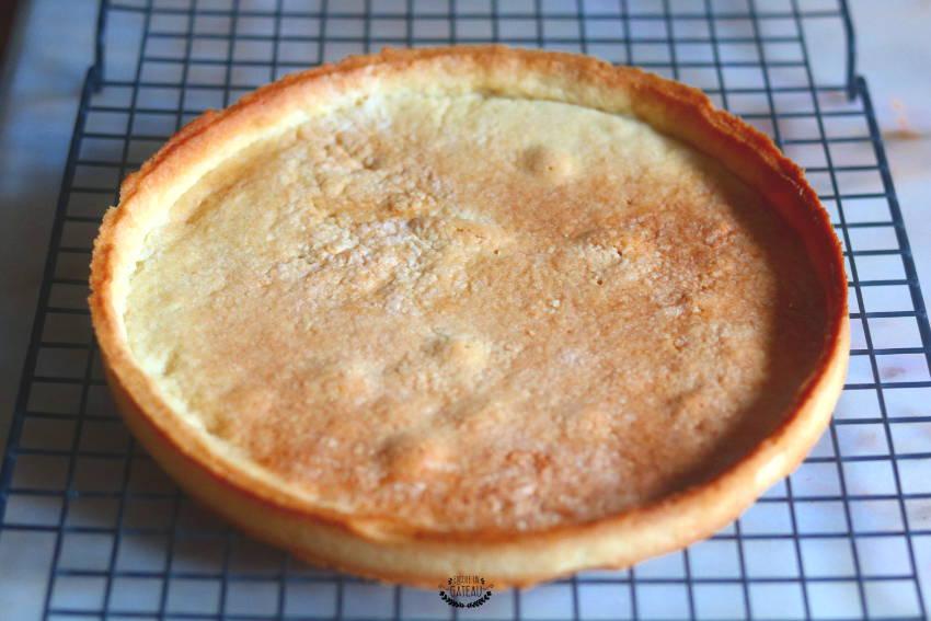 fond de tarte pour tarte mousse de fraise