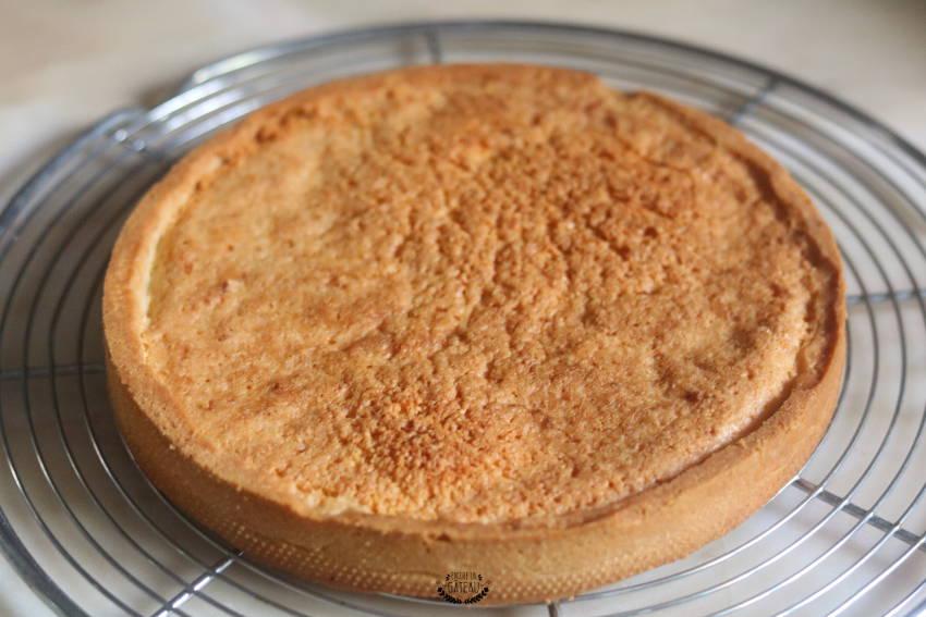 fond de tarte cuit tarte aux fraises crème diplomate
