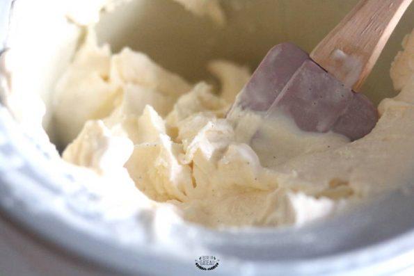 glace vanille maison pour mystère glacé