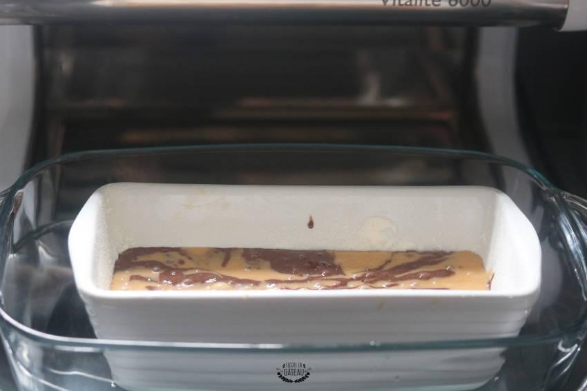 gâteau marbré caramel chocolat à l'omnicuiseur
