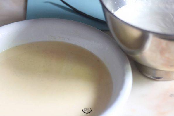 préparation glace vanille mystère glacé