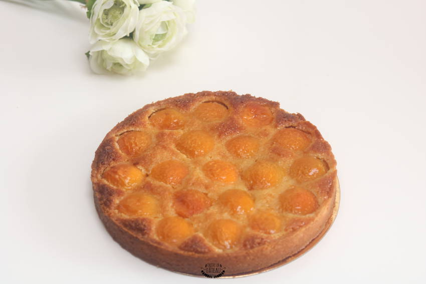 tarte amandine abricots avec abricots surgelés