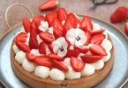 tarte aux fraises crème diplomate