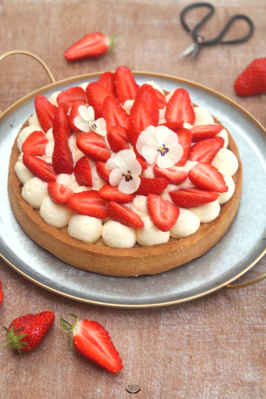 tout pour savoir faire la tarte aux fraises crème diplomate