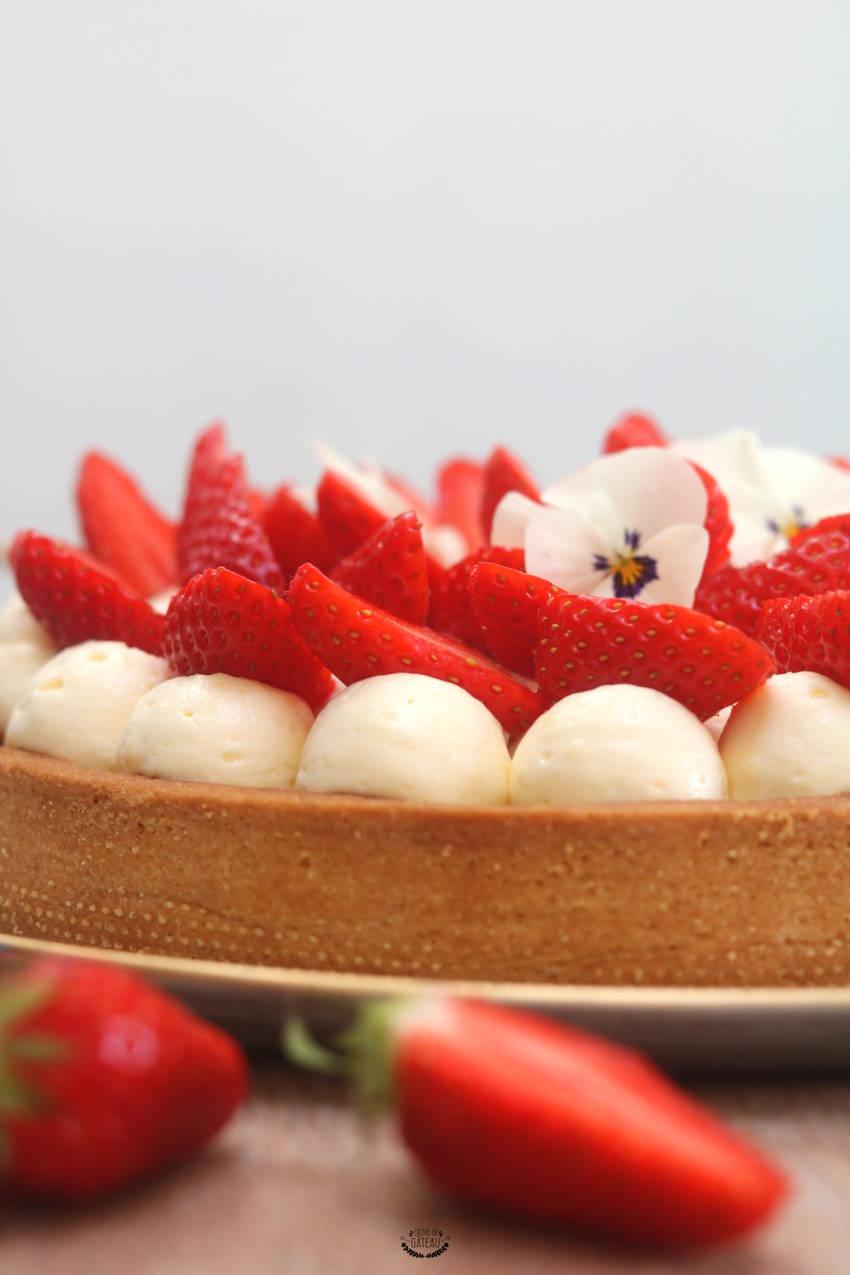 conseils pour réussir la tarte aux fraises crème diplomate