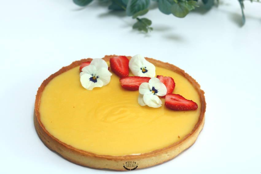 tarte au citron cap pâtissier