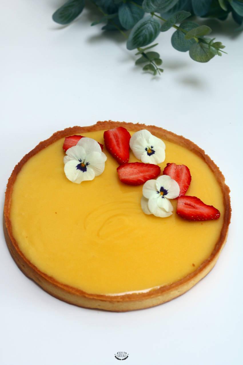 recette détaillée de la tarte au citron