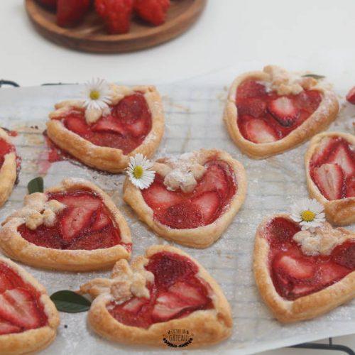 tartelettes aux fraises faciles