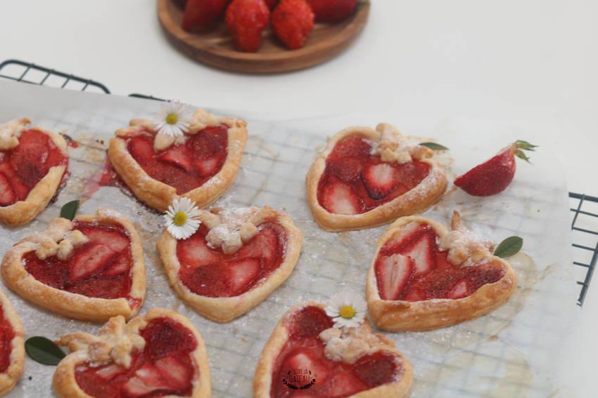 recette facile de jolies tartelettes aux fraises