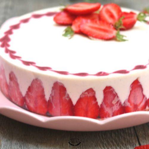 tiramisu aux fraises façon entremets