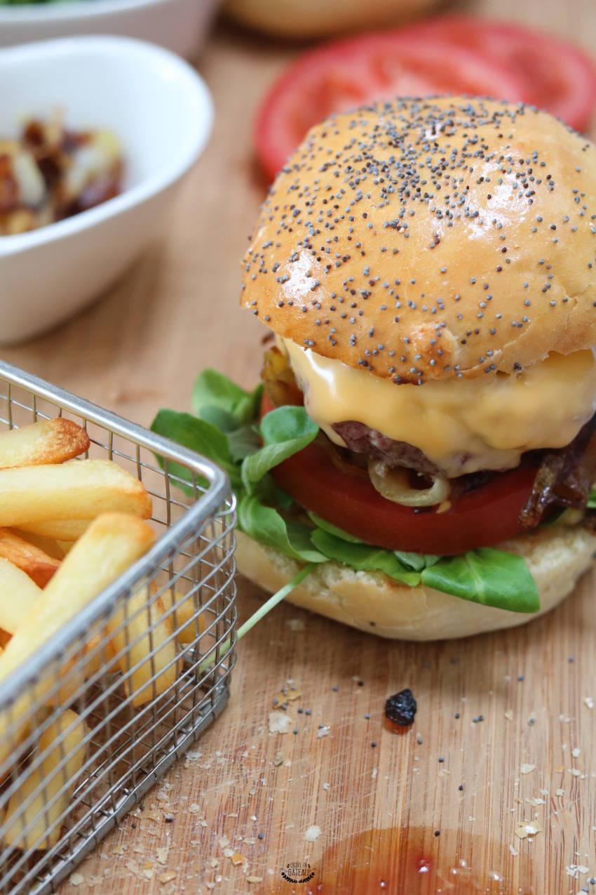 recette facile de cheeseburgers maison