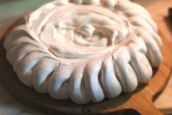 couronne de meringue pour pavlova