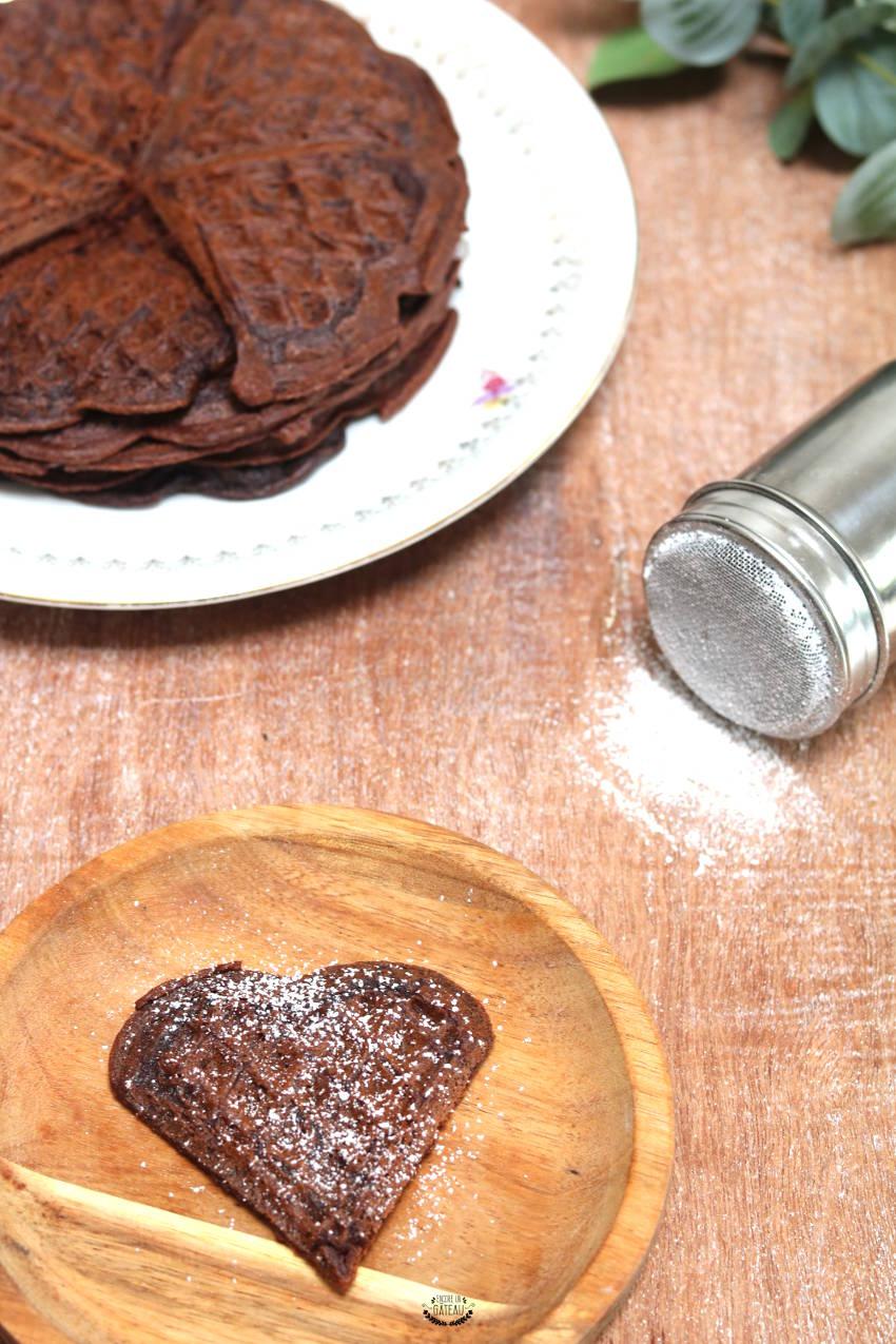 savoir faire des gaufres au chocolat