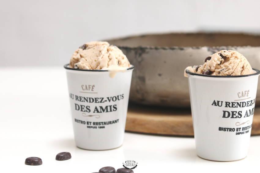 faire de la glace au café sans sorbetière