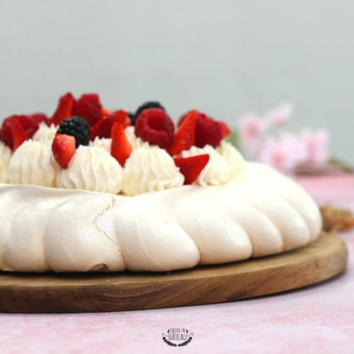 faire une pavlova aux fruits rouges
