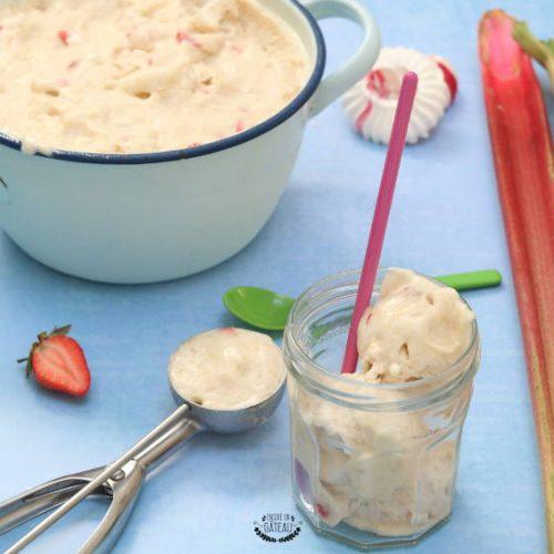 recette simple de sorbet rhubarbe fraises